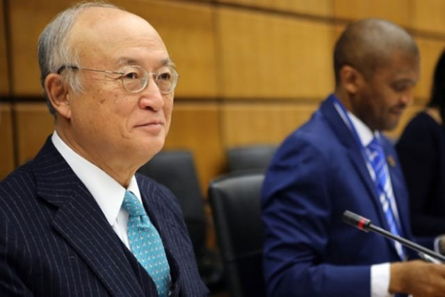 IAEA事務局長、理事会で2017年の...