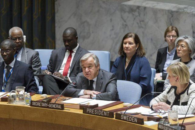 安全保障理事会公開討論: 「国際の平和と安全の維持:紛争予防と持続 ...