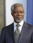 Former SG Annan Attends Unveiling of His Portrait at UN Headquarters